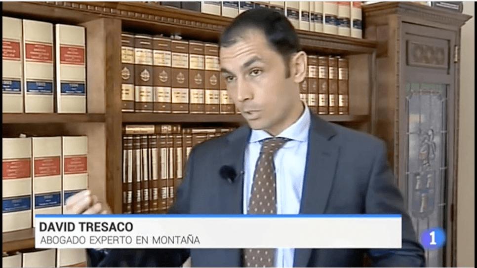 David Tresaco aconseja previsión y precaución en la montaña -Informativos TVE1-